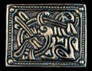 Anglo Saxon Belt Plate