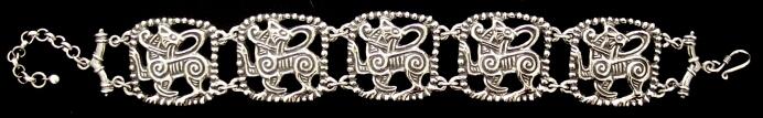 link bracelet lion