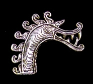 Viking                   Birka Horse Broach