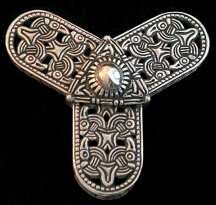 Viking Trefoil Brooch