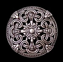 Viking Round                 Broach