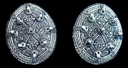 Viking Tortoise Broaches Silver