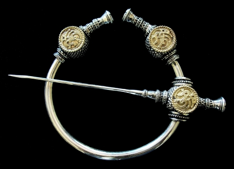 Viking Thistle Brooch