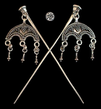 Viking               dress pins
