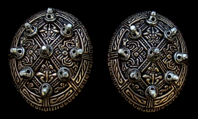 Viking Tortoise Brooches