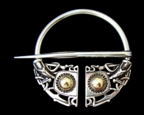 Openwork Viking Brooch