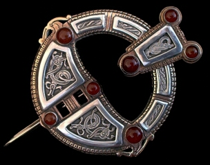 Viking Irish Roscrea Brooch