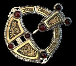 Viking                     Celtic Roscrea Brooch